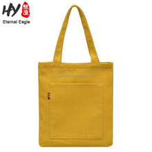 Fashion style 10oz cotton canvas shopper tote bag for wholesales