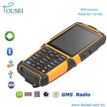 New industrial handheld barcode scanner pda phones with rfid reader