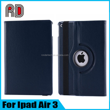 New Arrive 360 Degree Rotating Stand Holder Plate Flip Protective Case for Ipad Air 3