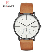 Guangdong Best Price Hot Selling Wholesale Japan Quartz Fashion Beautiful Vogue Genuine Leather Band Unisex Watch