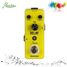 Rowin LEF-314 delay effect pedals for guitarist