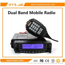 2017 New Arrival 40w CTCSS&DCS Base VHF UHF Air-band Receiving Car Radio Transceiver