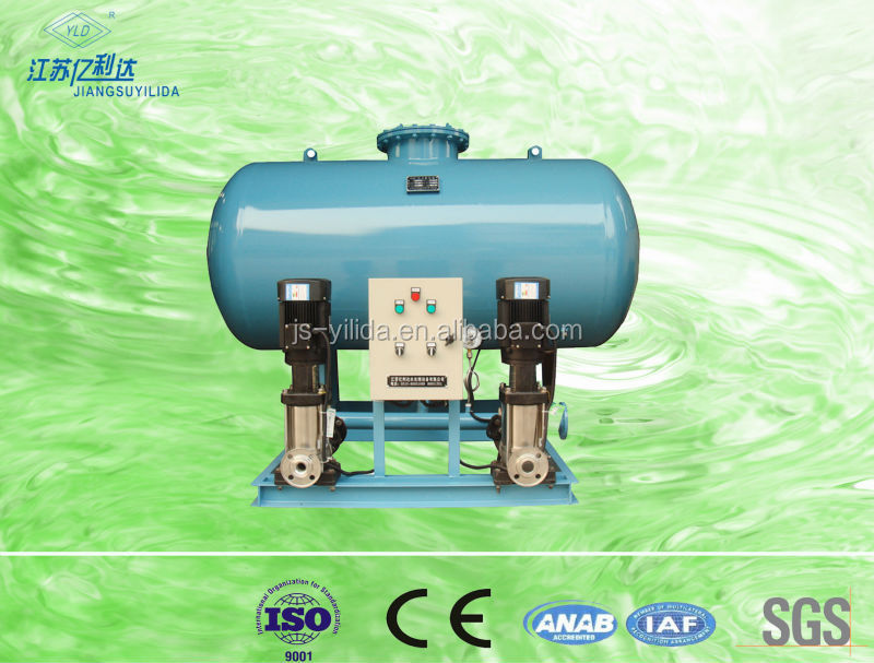 Constant-pressure water supplying and refilling station machine