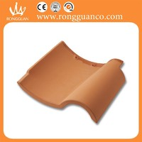 red color rustic S shape roof tiles types