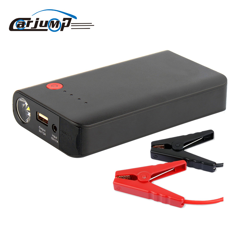 8000mah mini car jumper pack 12v battery booster