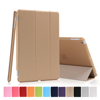 Wholesale Ultra Slim Magnetic Smart Cover Leather Case for iPad mini 1/2/3