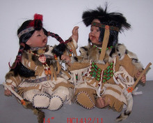 Wholesale Indian style hand made porcelain dolls with high quality