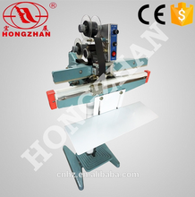 Hongzhan KS series foot pedal small plastic bag sealer with cutter