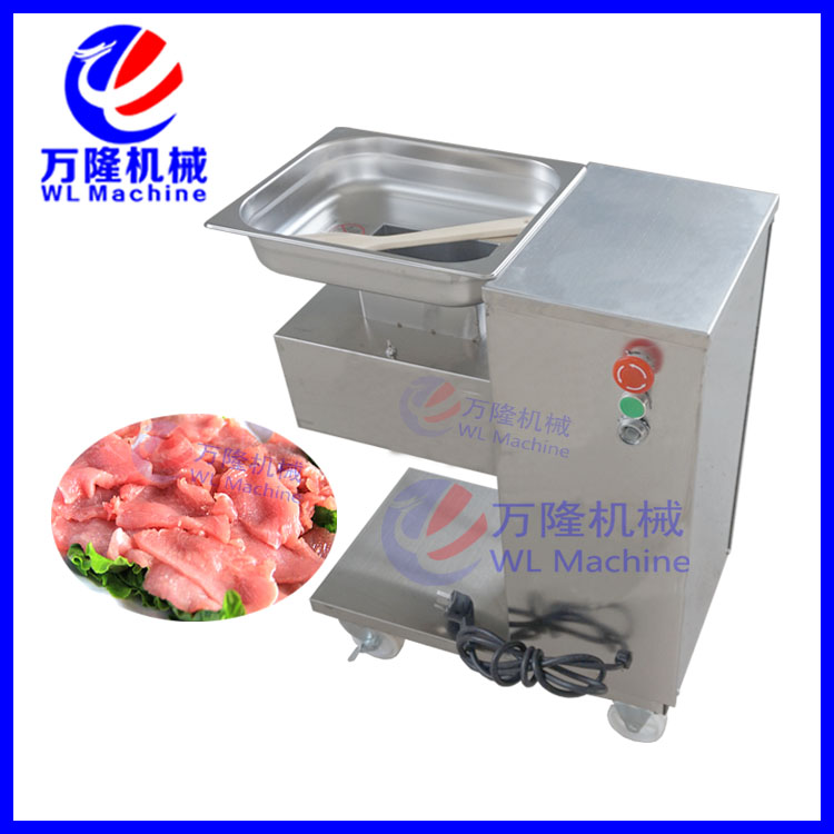2017 new design commercial machinery cooked meat cutting machinecooked meat cutter qe-5