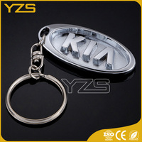factory custom nickel plated 3D key chain
