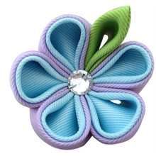 Newest hot sell hair ribbon sculpture clip bobby pin