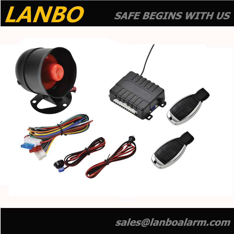 cheap car alarm for south america market , LB-101