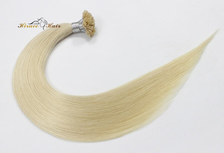 Remy Hair Keratin hair extension0.8g 1g flat tip hair extension