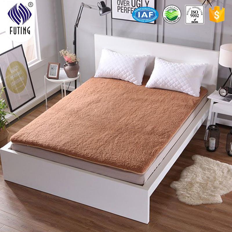 100%wool Thicken super soft home mattress protector - Jozy Mattress | Jozy.net