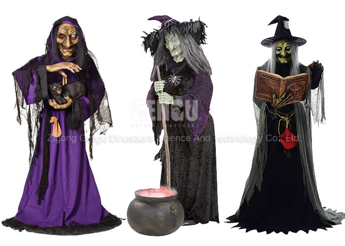 Halloween Decoration High Simulation Halloween Witch