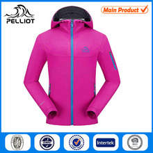 Bonding Polar Fleece Functional Cheap Softshell Jacket for Women