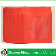 Wholesale Red 120g CD Sleeve Cardboard Dvd Cases