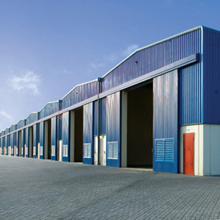 InfiCreation modern prefabricated steel warehouse customized for factory-1