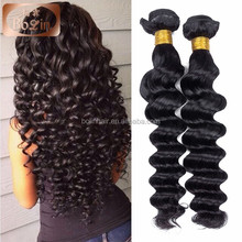 2016 new style raw unpprocessd wholesale Full Ends hair extensions hong kong