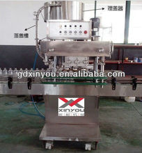 High-speed screw cap automatic shampoo filling capping machine