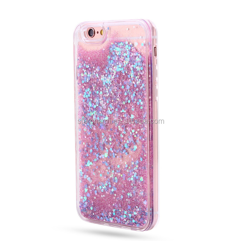 New Printing Pattern Soft TPU Glitter Liquid Quicksand Phone Case For samsung galaxy j3