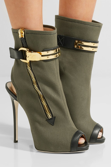 Good quality green color leather ladies high heel summer sandals boots