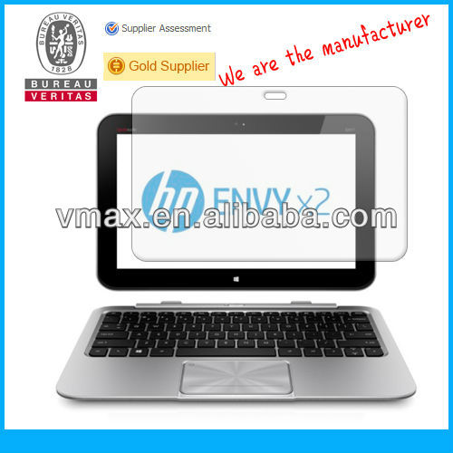 HP laptop screen protector for HP SlateBook x2 oem/odm (Anti-Fingerprint)