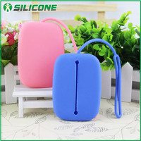China factory silicone soft rubber wholesale rainbow waterproof key case