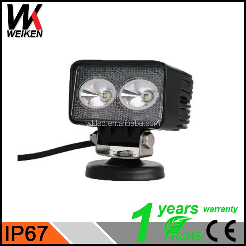 WEIKEN 20w led tractor work light CE ROHS listed waterproof led work light with stand