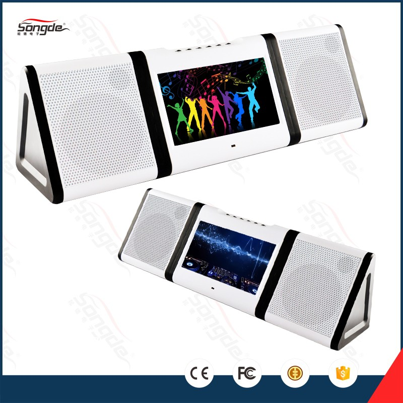 Touch screen portable wifi karaoke system with bluetooth function for sale