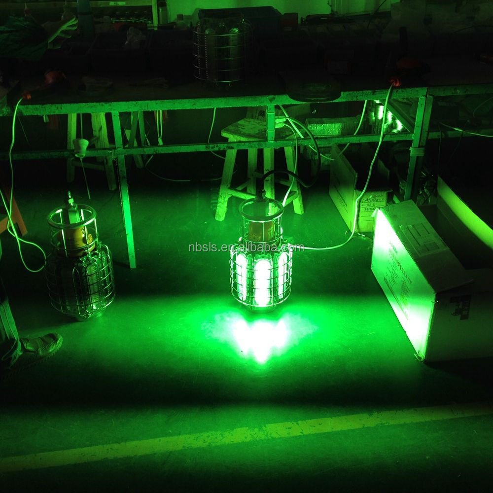 Green led fishing lights 1200w view led underwater for Lights company