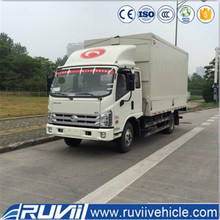 Forland 4 ton container delivery china mini van cargo truck