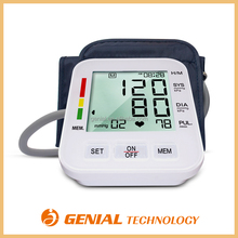 New listing Arm blood pressure machine monitor with CE ISO RoHS B.V