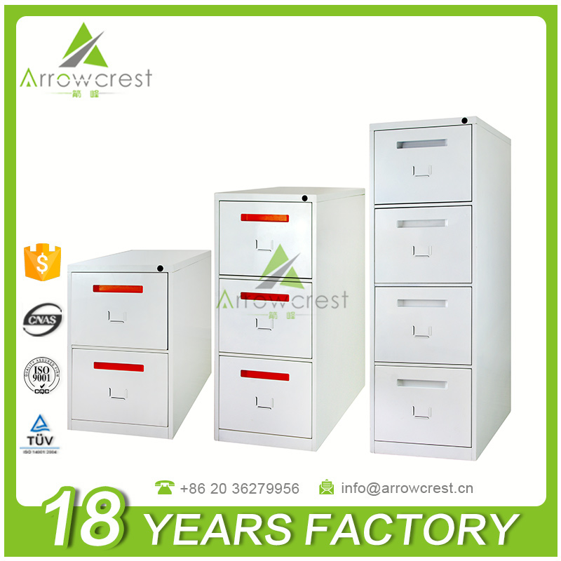 Chinese factory office furniture metal material 2 3 4 drawers steel file cabinet