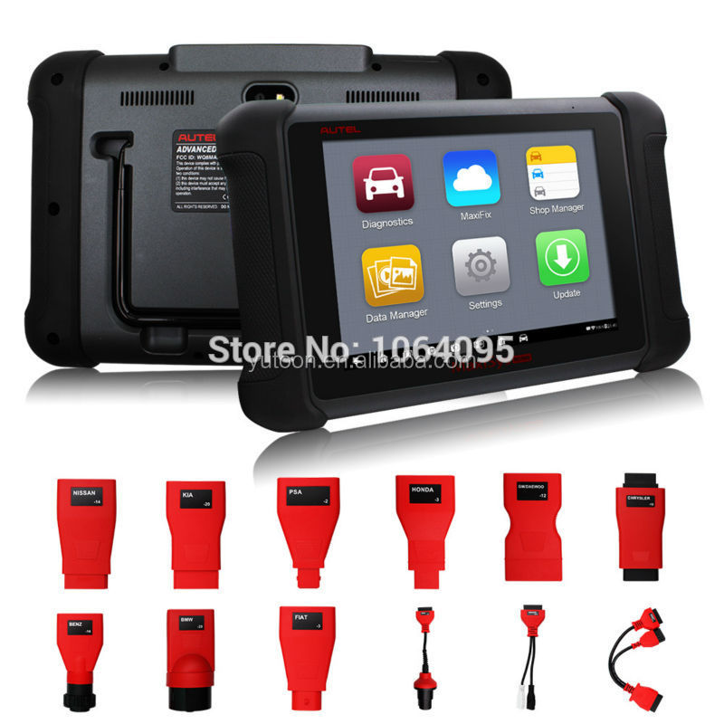 Autel latest engine scanner maxisys ms906 with PAD and faster diagnostic speed same function as ds708
