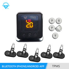 New design car desktop OBD TPMS for Android phone and iphone, car bluetooth tire pressure monitoring system