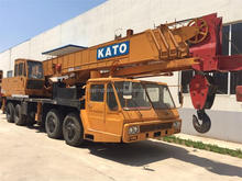 High Quality Japan Original NK500EV KATO 50 Ton Used Truck Crane Hot Sale