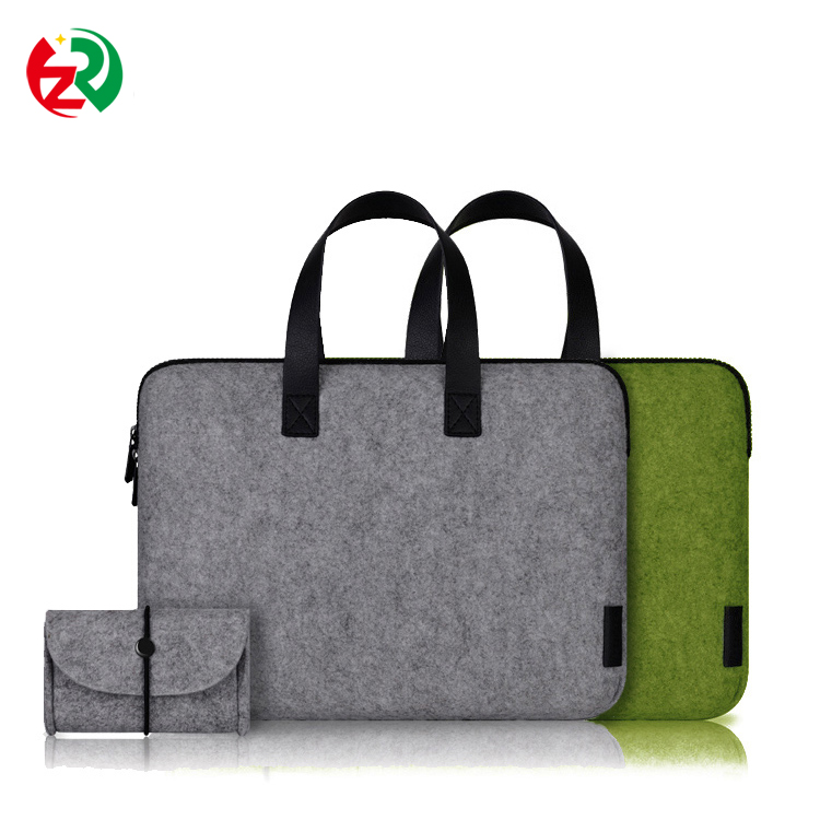 Amazon Hot Selling Design pure handmade wool felt laptop case for man