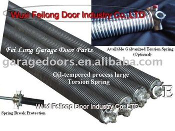 Garage Door Parts--- Torsion Spring(Oil-tempered Process or Galvanized Available)