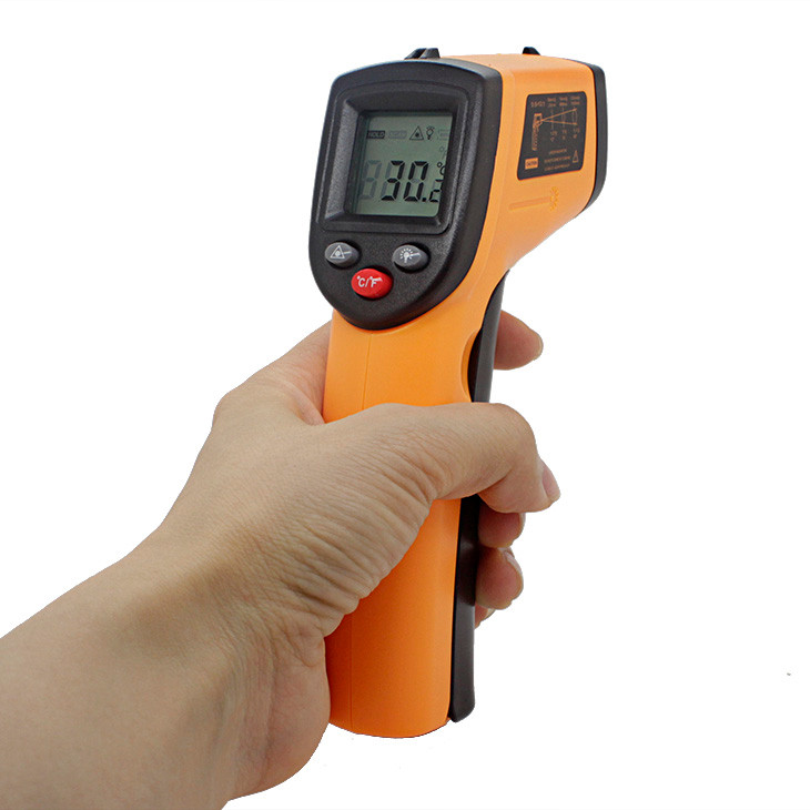 History digital IR thermometer wireless smart digital thermometer digital infrared thermometer temperature equipment GM320