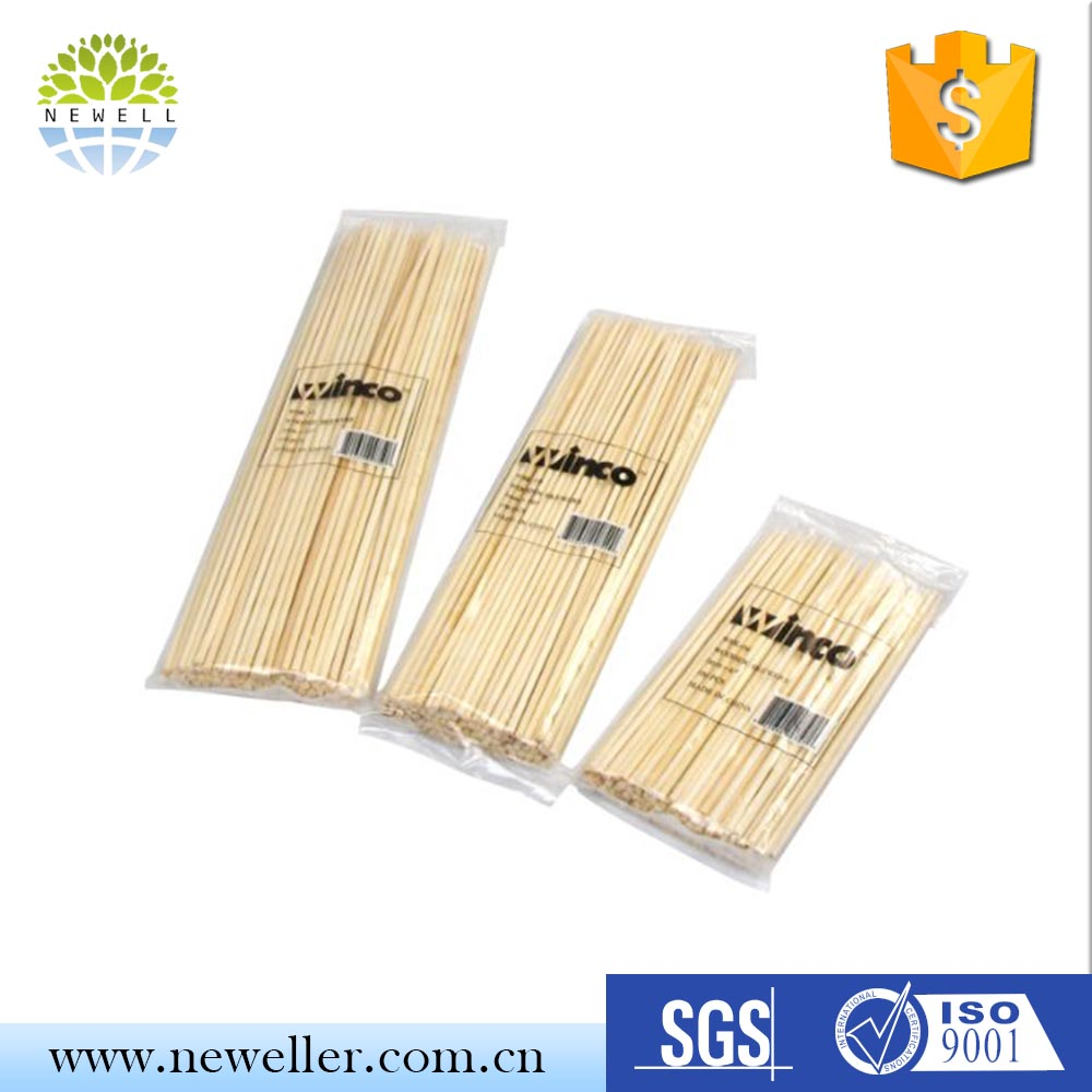 Professional party plat bamboo skewers For Babecue