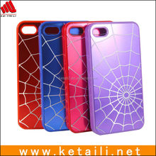PC hard sublimation case for iPhone 5 with rubber new design