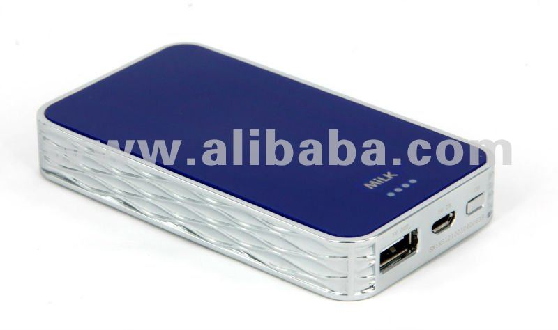 Milkpack-5000mAh External battery for mobile devices