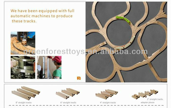 Alibaba China Zhejiang Educational Wooden Toys Wooden Train Tack Toy Conforming to EN71 ASTM