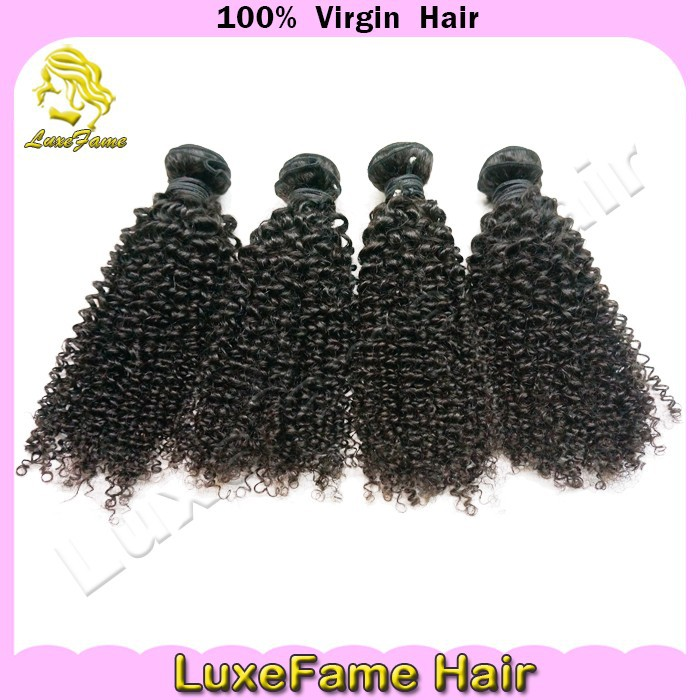 India remy hair 100% indian kinky curly indian extensions with weft
