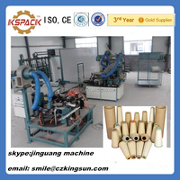 full automatic paper cone production line for cotton industry