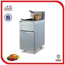 Double Baskets Commercial Gas Deep Fryers with Gas Safety