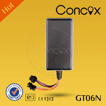 Real Time GPS Vehicle Tracking Systems with Google Map Tracking Concox GT06N
