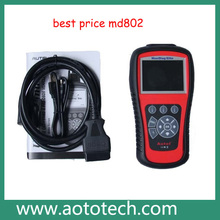 Original md802 from autel company ,autel maxidiag elite md802 4 systems 4 in 1 Code reader (MD701+MD702+MD703+MD704)--Fannie