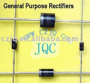 6A05-6A10 general purpose rectifier through hole R-6 6 amp high current diodes